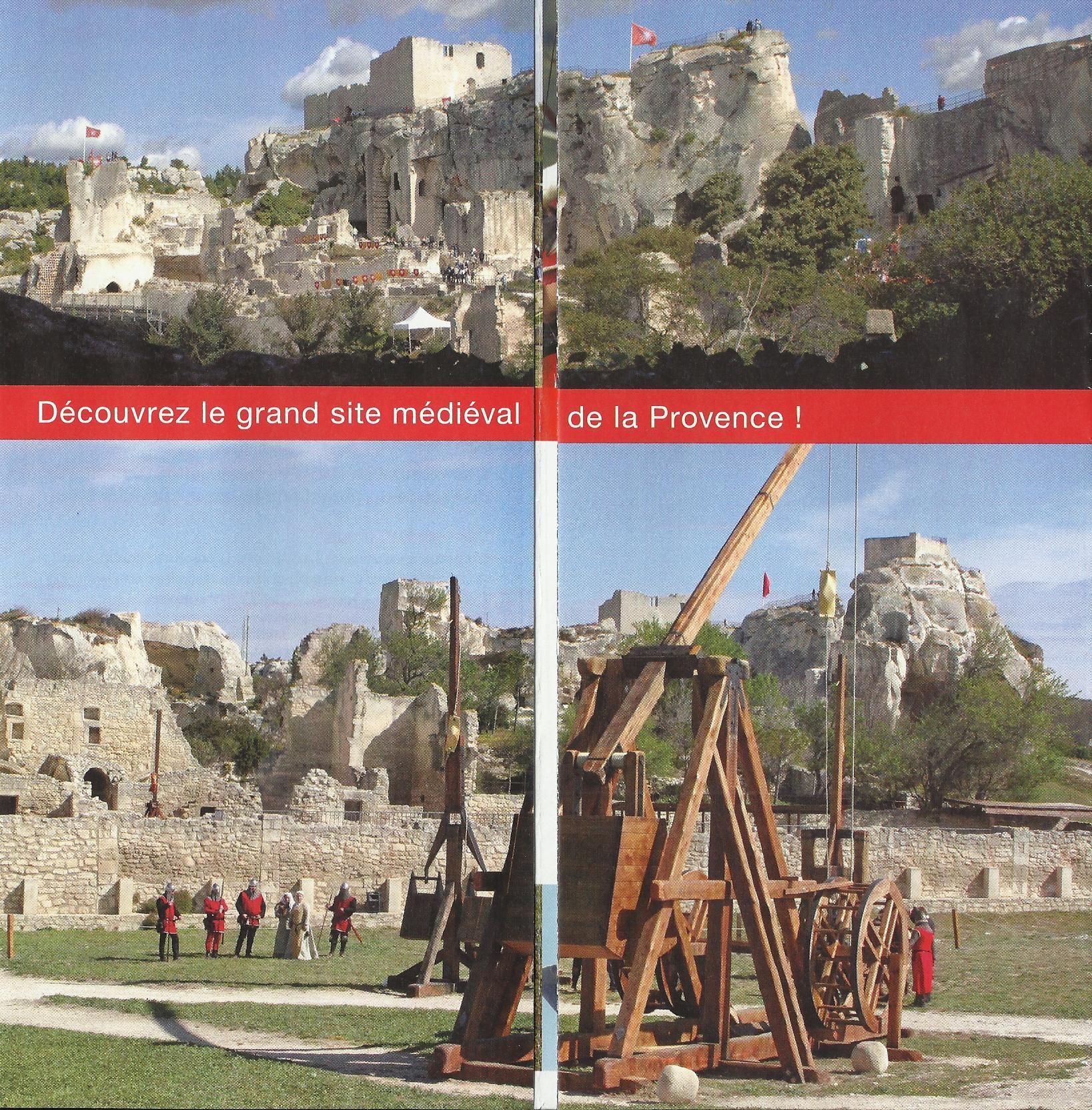 Le ch teau des baux de provence - Office de tourisme les baux de provence ...