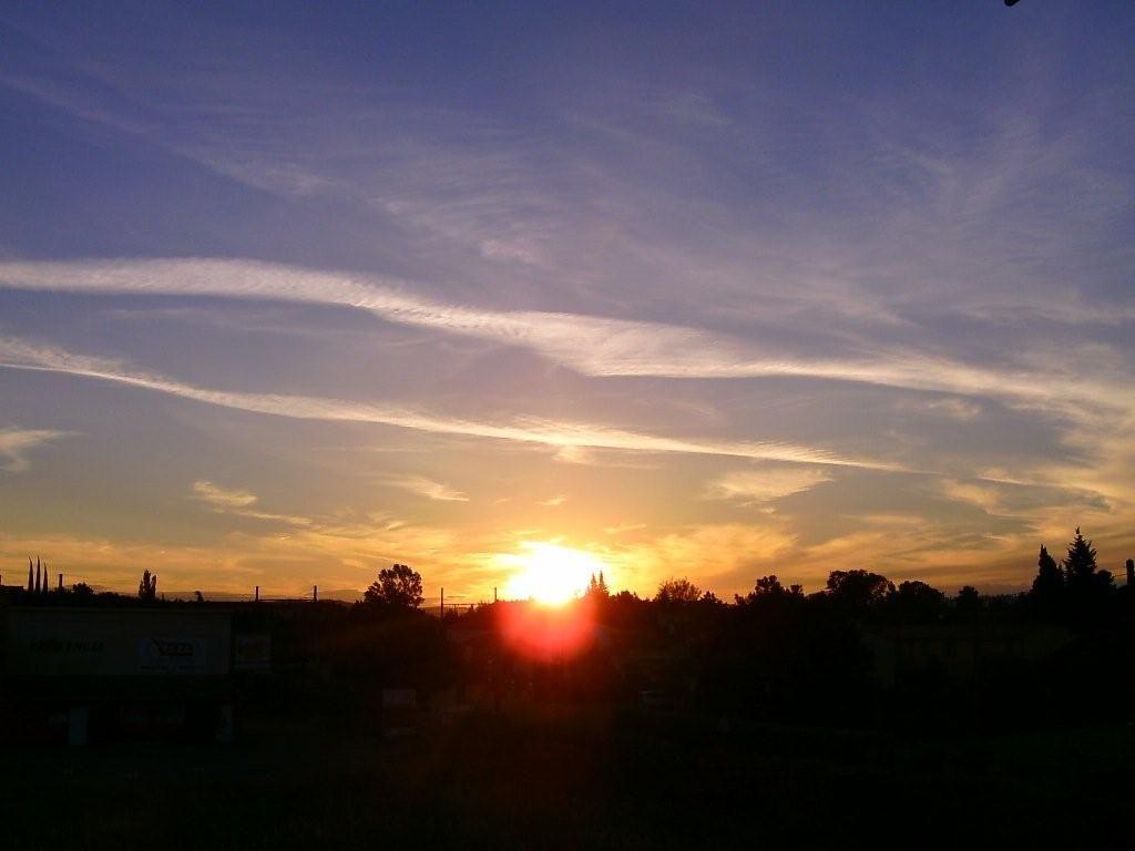 Coucher du soleil vu de ma chambre - Heure de coucher du soleil aujourd hui ...