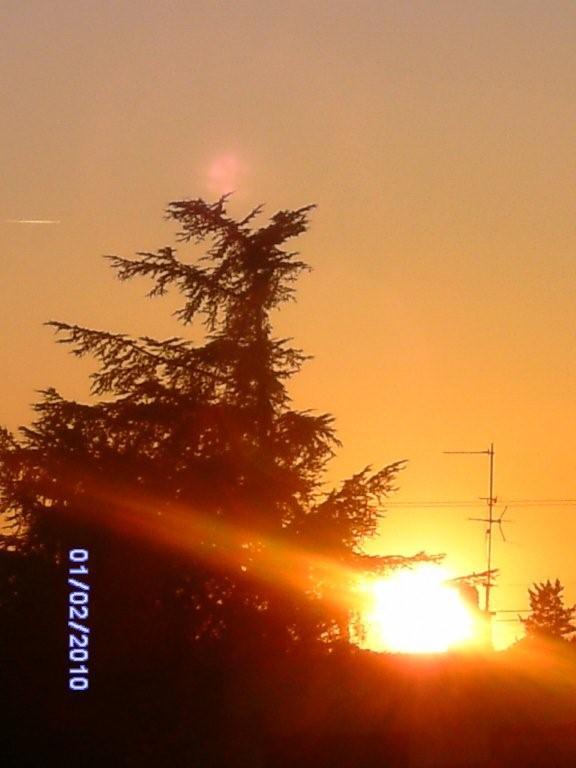Coucher du soleil que j 39 ai photographi tout l 39 heure - Heure coucher soleil aujourd hui ...