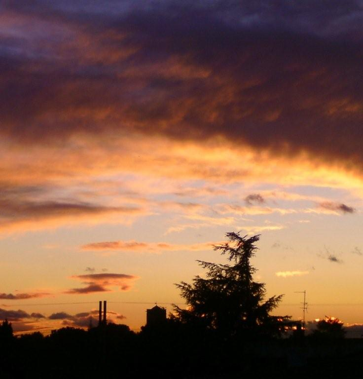 Coucher du soleil que j 39 ai photographi tout l 39 heure - Heure de coucher du soleil aujourd hui ...