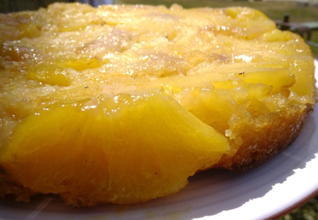 recette avec un bel ananas frais