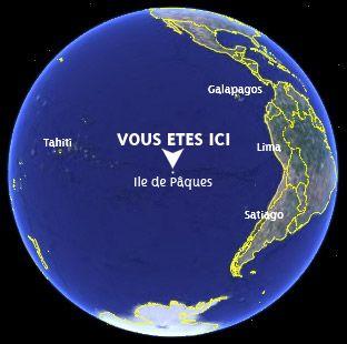 situation de l'île de Pâques