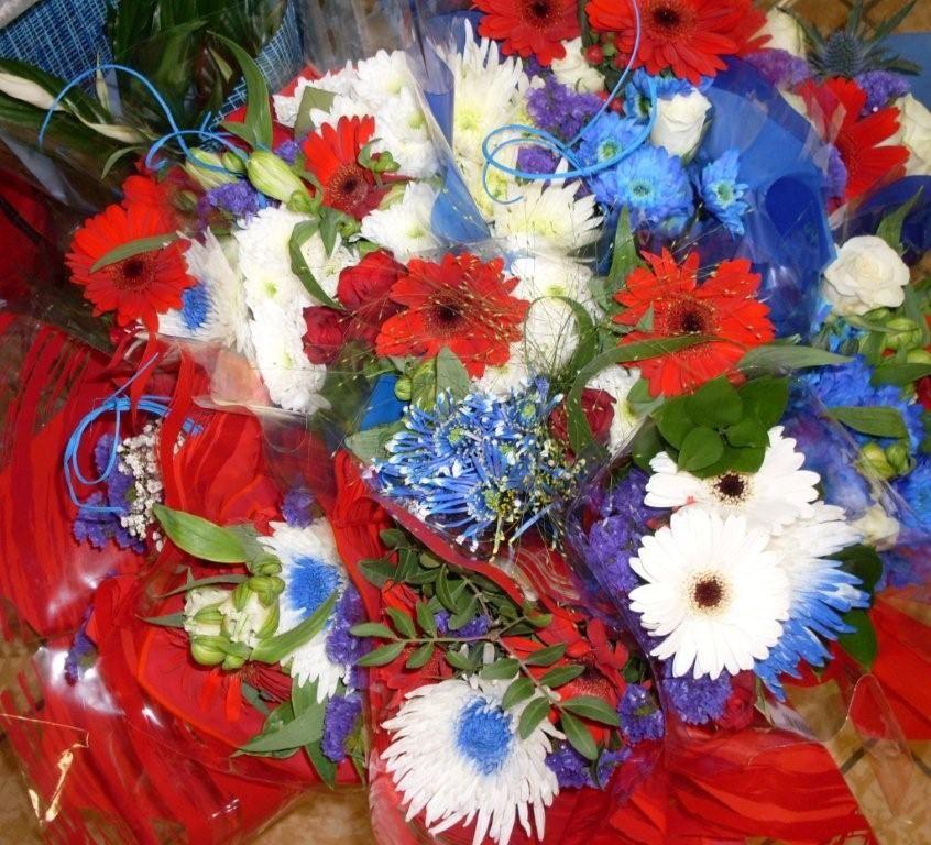 Pour le 14 juillet, offrez dez fleurs