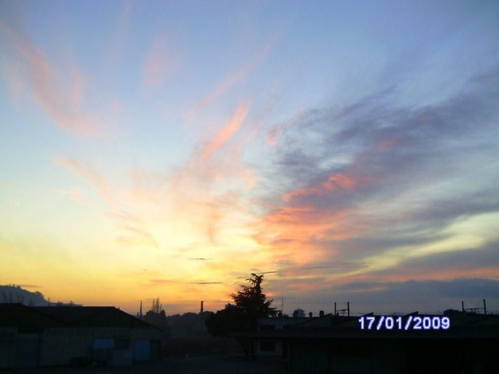 Coucher de soleil que je viens de photographier - Heure coucher soleil aujourd hui ...